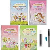 Avedia Magic Practice Copybook English Language Sank Magic Calligraphy, homeschool supplies, preschool workbook, Numbers…