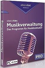 Stecotec Musikverwaltung Pro: CD- und Schallplatten-Sammlung am PC verwalten, Musikverwaltungsprogramm, Musikverwaltungssoftware, Musik Verwaltung, Musiksammlung / Musik ordnen, sortieren, organisieren und katalogisieren