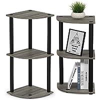 Star Work Standing Corner Wall Shelf | 3 Tier Rack Floor Wall Shelves for Living Bed Room Home Office |Multipurpose…