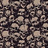 DeinDesign Sony Playstation 3 Folie Skin Sticker aus Vinyl-Folie Aufkleber Skull Böse Gothic