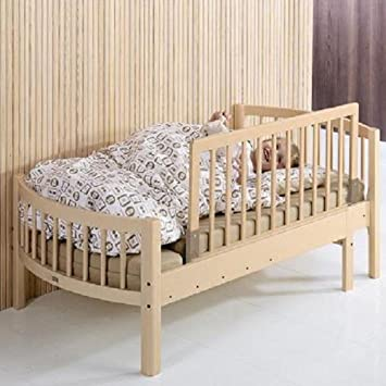 BabyDan Wooden Bed Guard Natural