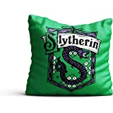 MC SID RAZZ -Harry Potter Slytherin Design Satin Cushion Cover [12x12 inch Without Cushion ] Birthday Gift/Anniversary…