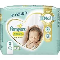 Pampers Baby Windeln Größe 0 (1.5-2.5kg) Premium Protection, 24 Stück, Pampers Weichster Komfort Und Schutz