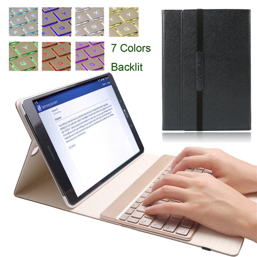 """LUSSO Custodia Protettiva in Pelle per Samsung Galaxy Tab a 9,7/"""" Tablet Custodia Cover Case"""