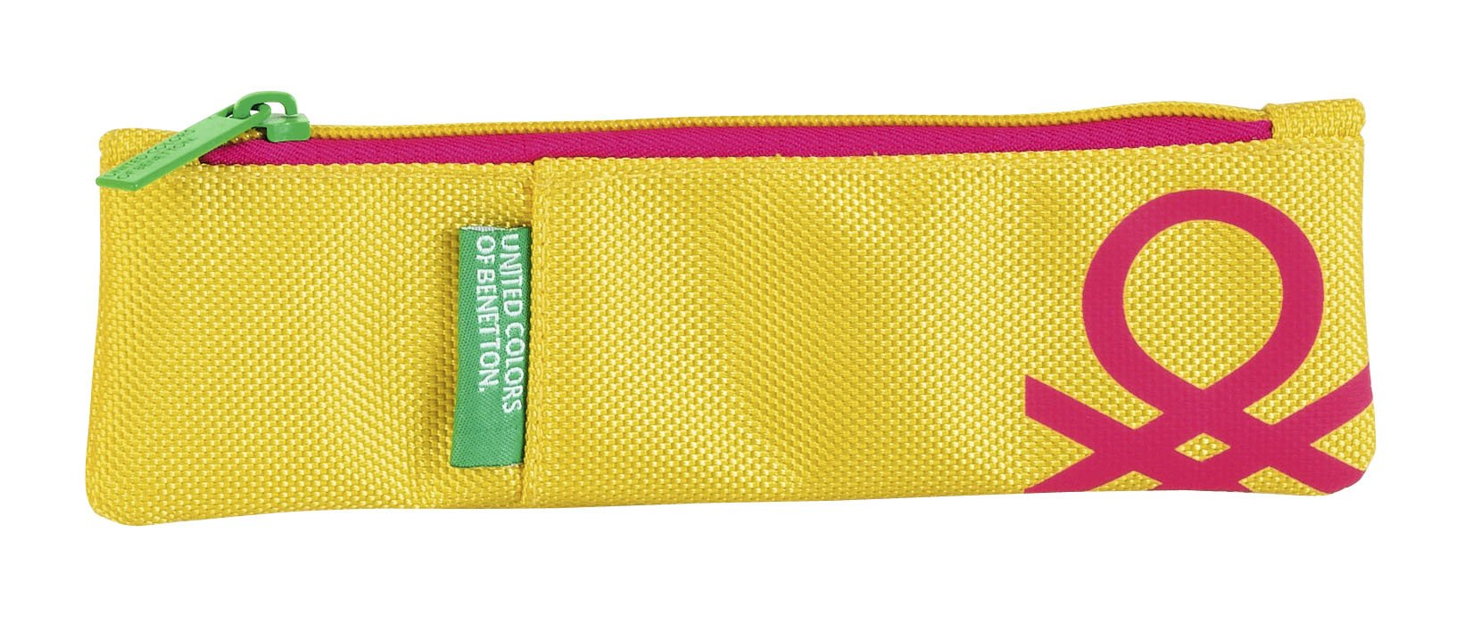 Benetton yellow. Portatodo estrecho