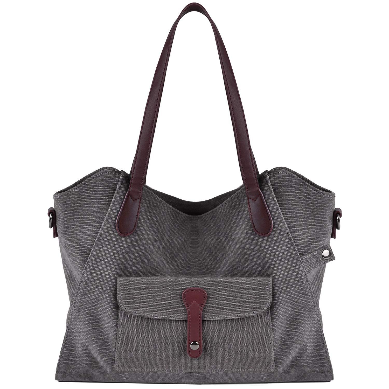 8c1d8d3e03 Bageek Borsa Donna Tracolla Nylon Borse a Spalla Borse Tote Bag Borse a  Mano Borsetta (grigio)