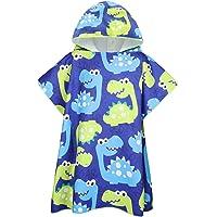 Tacobear Poncho Asciugamano per Bambini Telo Mare con Cappuccio per Spiaggia Poncho da Bagno in Microfibra Cartone…