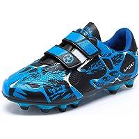 Scarpe da Calcio Bambino Ragazzi Ragazza Scarpe da Allenamento Unisex Sportive Sneakers Junior Leggero Scarpe da…