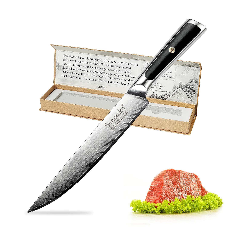 """8"""" Coltello da Cucina Giapponese Damasco VG 10 Coltello da Cuoco ..."""