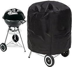 Gifort 70*75cm Copertura Barbecue, Impermeabile Telo Protettivo Per Barbecue Grill Campana Protezione (Nero)