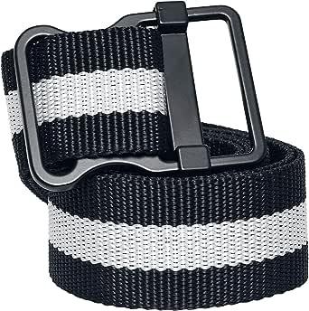 Urban Classics Easy Belt with Stripes Cintura Unisex-Adulto