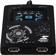 Hama Maus/Tastatur Konverter Speedshot Ultimate (geeignet für Xbox One X, PlayStation 4/SLIM/PRO, Xbox One, PlayStation 3, Xbox 360) schwarz/blau