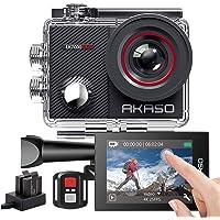 AKASO Action Cam 4K 16MP WiFi 40M Unterwasserkamera Wasserdicht Ultra HD Touchscreen, EK7000-Pro Einstellbar Weitwinkel…
