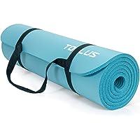 TOPLUS Tappetino da ginnastica,Tappetino yoga senza ftalati, antiscivolo e facile sulle articolazioni Tappetino sportivo…
