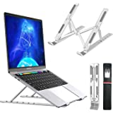 Wayona Laptop Stand Height Adjustable Aluminum Ergonomic Tablet Stand Foldable Portable Desktop Holder Compatible with…