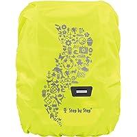 Step by Step Regen-/Sicherheitshülle, reflektierend, gelb, passend für alle Schulranzen und Tornister, schützt vor Regen…