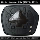 HND-CV 2007 to 2012 Heated Driver Side Silver Door Mirror s Including Base Plate RH