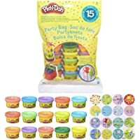 Hasbro- Play-Doh Bustina di Vaso, Single, Multicolore, 15 Vasetti, 18367EU4