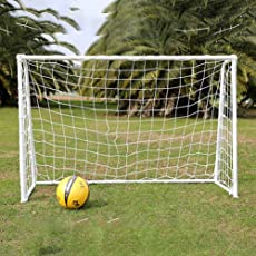 AST Works 6 x 4ft Football Soccer Goal Post Net for Kids Outdoor Football Match Training@T