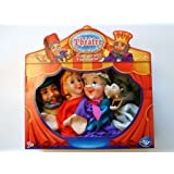 Mon théâtre et mes 4 marionnettes Le petit chaperon rouge