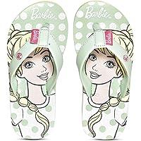 Barbie by toothless Kids Girls Sea Green Flip-Flops