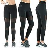 Formbelt® Laufhose Damen mit Tasche lang - Leggins Stretch-Hose Lauf-Tights für Smartphone iPhone Handy Schlüssel Yoga