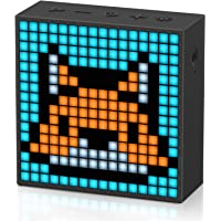 Divoom Timebox-evo - Haut-Parleur Bluetooth avec Pixel Art LED, commande par application, haut-parleur sans fil…