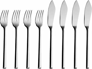 Solex 200401968 Laura Fish Knife, Set of 8