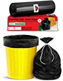 Shalimar Premium OXO - Biodegradable Garbage Bags (Extra Large) Size 76 cm x 94 cm 6 Rolls (90 Bags) ( Dustbin Bag…