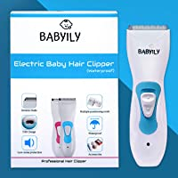Babyily Rechargeable Baby Hair Clipper/Baby Hair Trimmer (Blue)