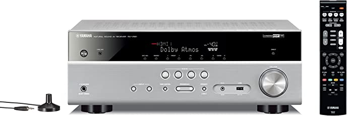 Yamaha RX-V581 MusicCast AV-Receiver titan