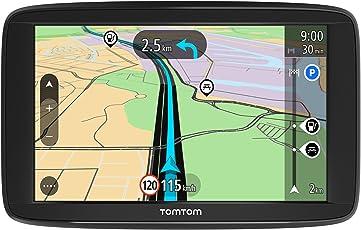 TomTom Start 62 Navigationsgerät (15,2 cm (6 Zoll) Display, Lebenslang Karten-Updates, Fahrspurassistent, Karten von 48 Ländern Europas)