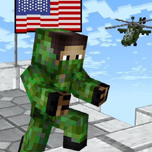 American Block Sniper Survival (free) (Block App)