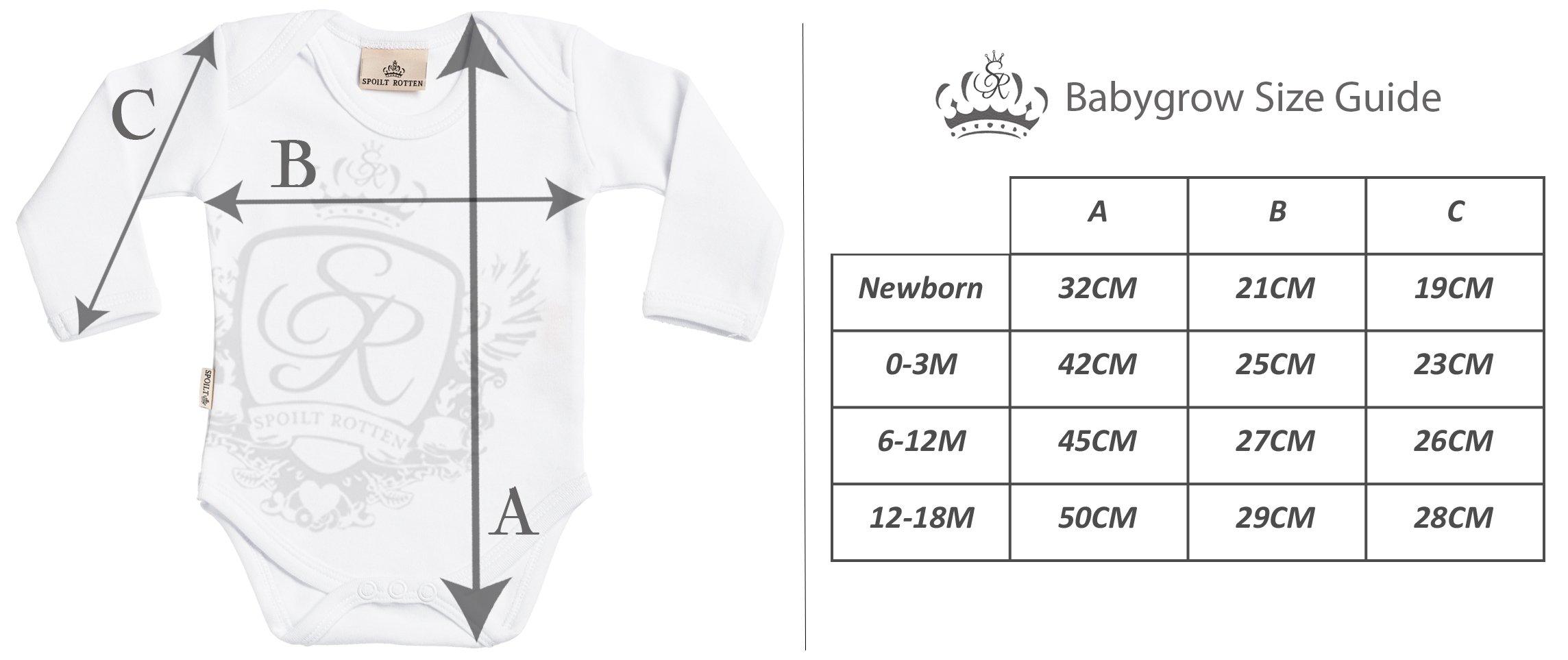Spoilt Rotten SR - Problema Doble - Conjunto Gemelo - Regalo para bebé - Azul Body para bebés & Negro Pantalones para… 4