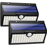 Solar Lights Outdoor, HETP Upgraded 78 LED Solar Motion Sensor Security Lights 2000 mAh Solar Powered Lights Waterproof…