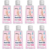 Mirah Belle - Hand Rub Sanitizer - FDA Approved (72.9% Alcohol) - Best for Men, Women and Children - Sulfate and Paraben…