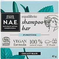 N.A.E. Shampoo Solido per Capelli Grassi Equilibrio, Shampoo Bar Ecologico e Vegano con Estratti di Salvia e Menta…