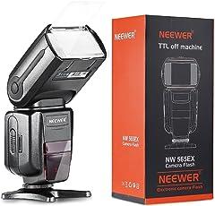 Neewer NW565EX i-TTL Slave Flash Speedlite con Flash Diffusore per for Nikon D7200,D7100,D7000,D5100,D5200,D5000,D3200,D3100,D3000,D800,D700,D600,D500,D300,D90 e altri Modelli Nikon DSLR