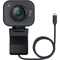 Logitech Streamcam Webcam für Live Streaming und Inhaltserstellung, Vertikales Video in Full HD 1080p bei 60 fps, Smart…