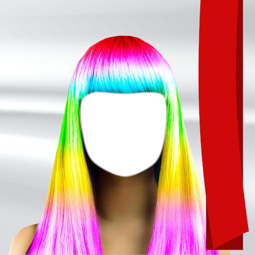 Farbe Frisur Fotokamera