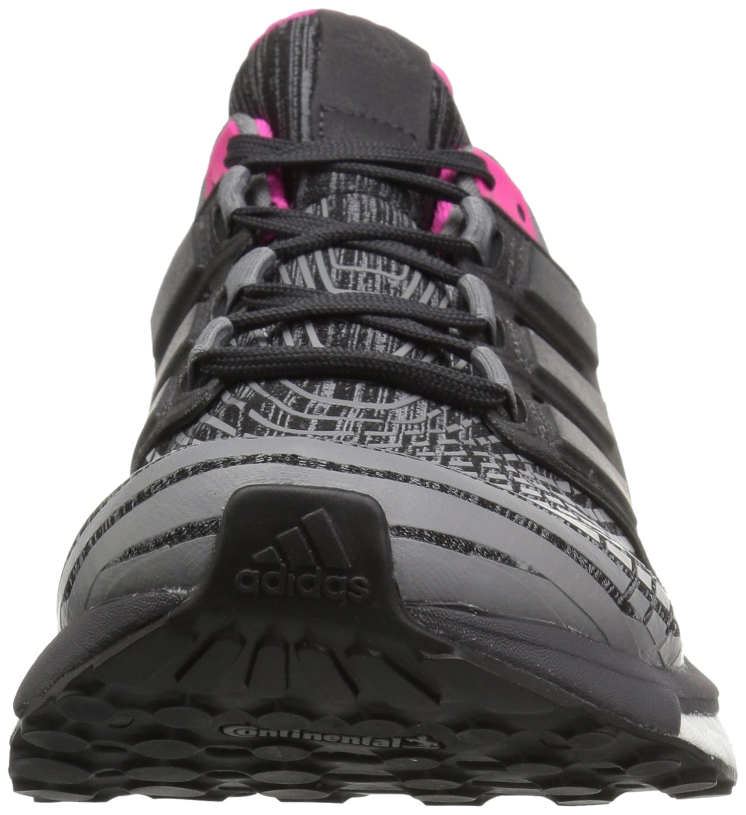 71%2BGs8FZ7OL - adidas Womens Energy Boost Fabric Low Top Lace Up Running Sneaker