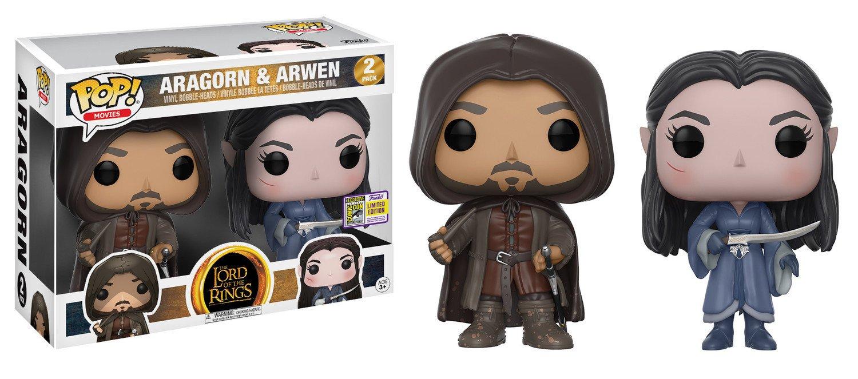 Funko Pop Pack Aragorn y Arwen (El Señor de los Anillos) Funko Pop El Señor de los Anillos & El Hobbit