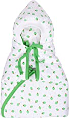 132 Soft Swaddle Sleeping Bag Baby Wrapper (Green)
