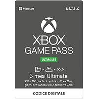 Abbonamento Xbox Game Pass Ultimate - 3 Mesi | Xbox/Win 10 PC - Download Code