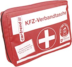 Cartrend 50211 KFZ-Verbandtasche Österreich, Inhalt Entspricht Österreichischem KFG 102 ABS 10