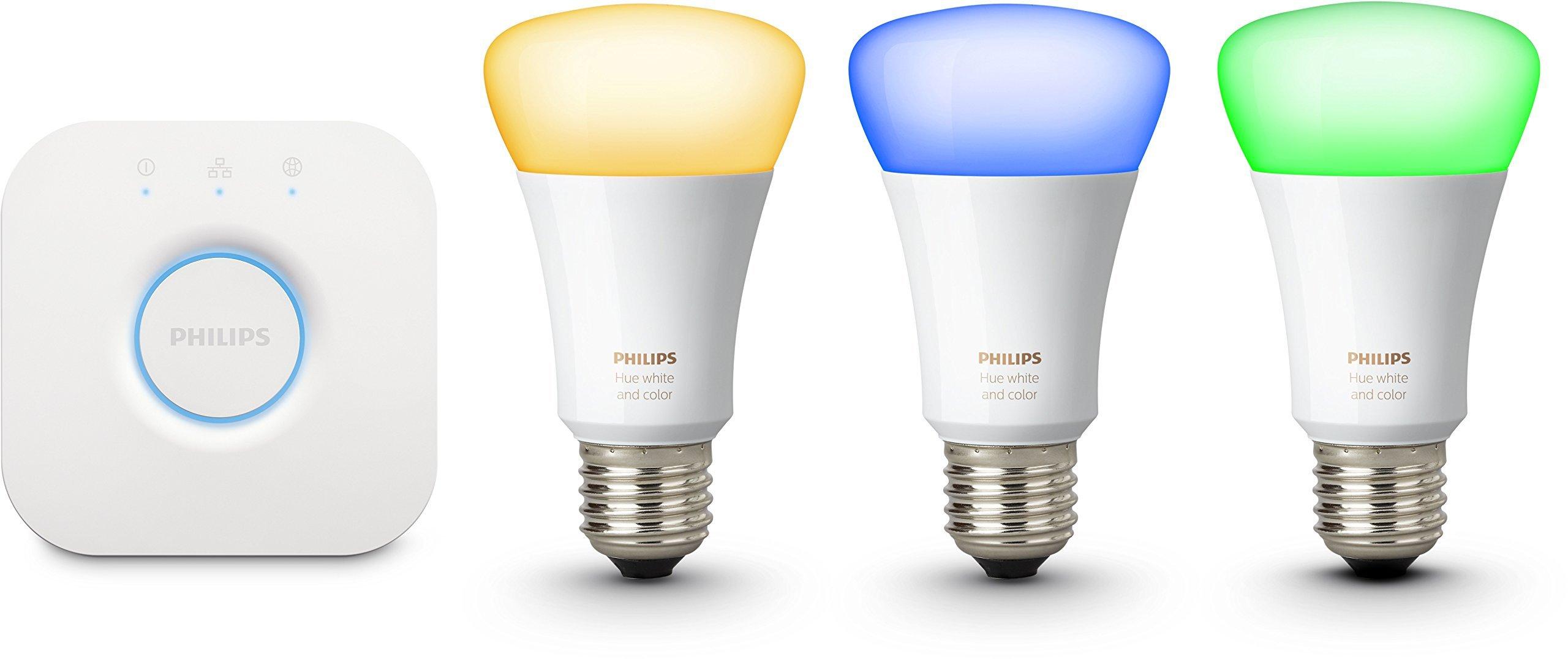Philips Hue Kit de Démarrage White And Color Ambiance