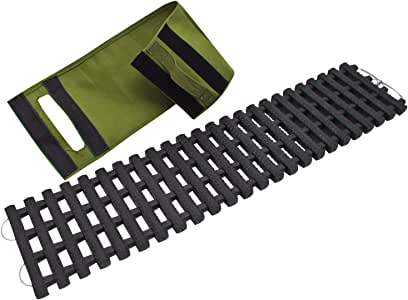 QINUO Plaque Anti enlisement Neige Boue Sable,Tapis de Grip pour Surfaces Prise de la poussi/ère Traction