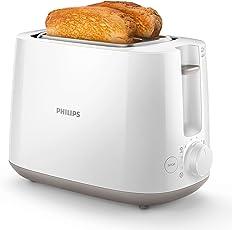 Philips Toaster, integrierter Brötchenaufsatz, 8 Bräunungsstufen