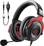 EKSA E900 Gaming Headset für PC PS4 Xbox One Gaming Kopfhörer mit abnehmbarem Rauschunterdrückung Mikrofon für Laptop…