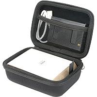 Khanka Dur Cas étui de Voyage Housse Porter pour Fujifilm Instax Share SP-2 - Argent - Imprimante Pour Smartphone.
